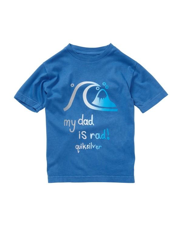 0 Boys 2-7 Rad Dad T-Shirt  AQKZT00285 Quiksilver