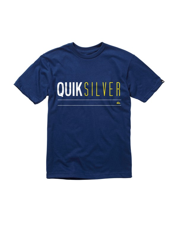 0 Boys 2-7 Uno T-Shirt  AQKZT00293 Quiksilver