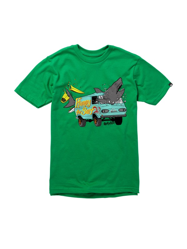 0 Boys 2-7 Crash Course T-Shirt  AQKZT00298 Quiksilver