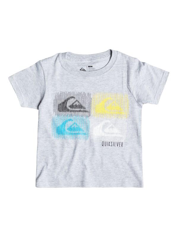 0 Boys 4-7 Barred T-Shirt  AQKZT03049 Quiksilver