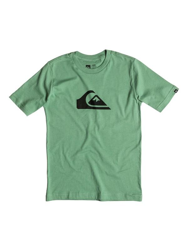 0 Boy's 2-7 Mountain & Wave Logo Tee  AQKZT03097 Quiksilver