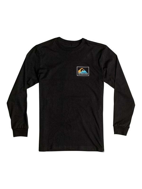 0 Boy's 2-7 Heat Wave Long Sleeve Tee  AQKZT03130 Quiksilver
