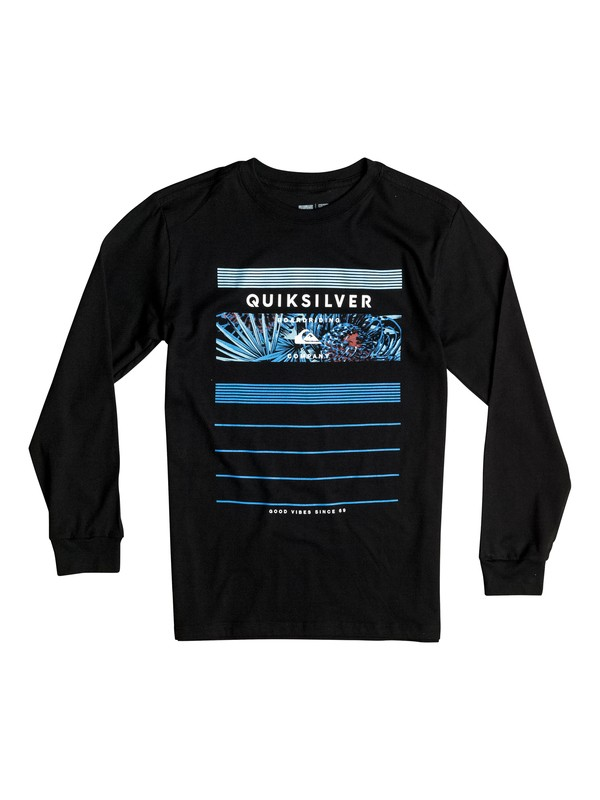 0 Boy's 2-7 Stringer Long Sleeve Tee  AQKZT03131 Quiksilver
