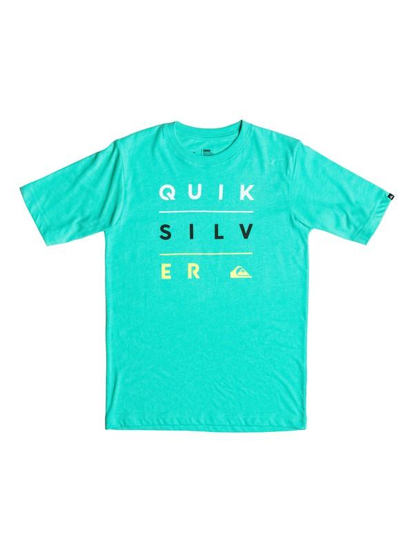 0 Boys 2-4 Yardage Stack T-Shirt  AQKZT03138 Quiksilver