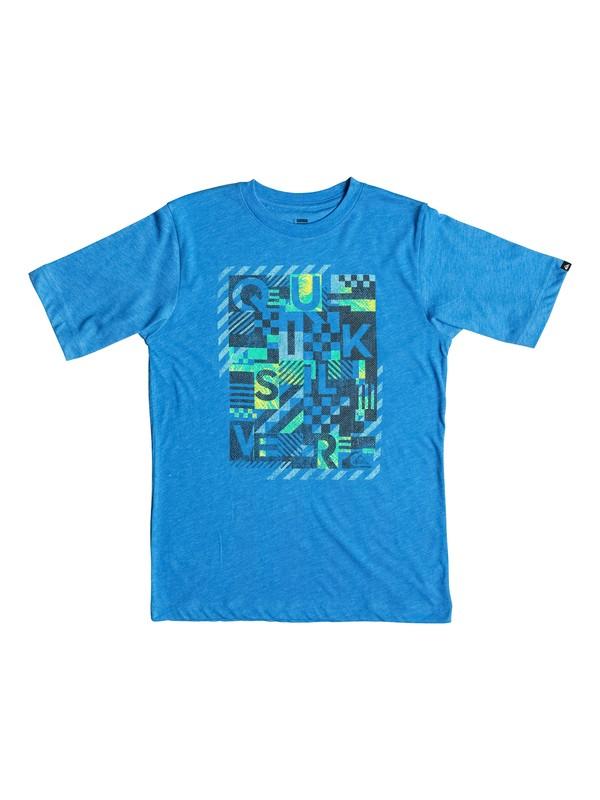 0 Boys 4-7 Plaid Republik T-Shirt  AQKZT03147 Quiksilver