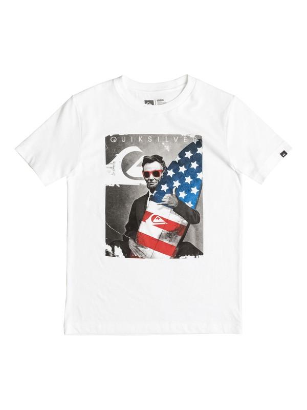 0 Boys 4-7 ABE T-Shirt  AQKZT03157 Quiksilver