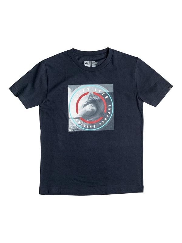 0 Boys 4-7 Plaid The Surf T-Shirt  AQKZT03163 Quiksilver