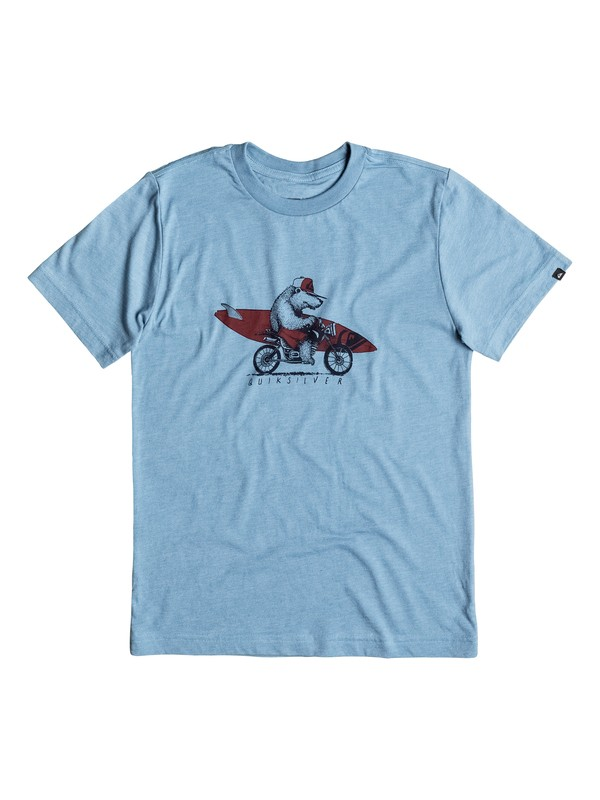 0 Boy's 2-7 Bear On Da Way Tee  AQKZT03191 Quiksilver