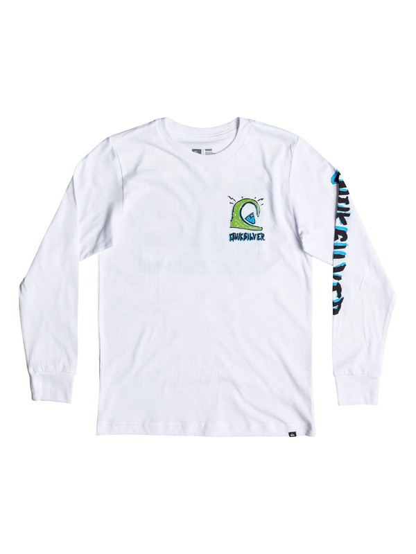 0 Boy's 2-7 Action 1 Long Sleeve Tee  AQKZT03198 Quiksilver