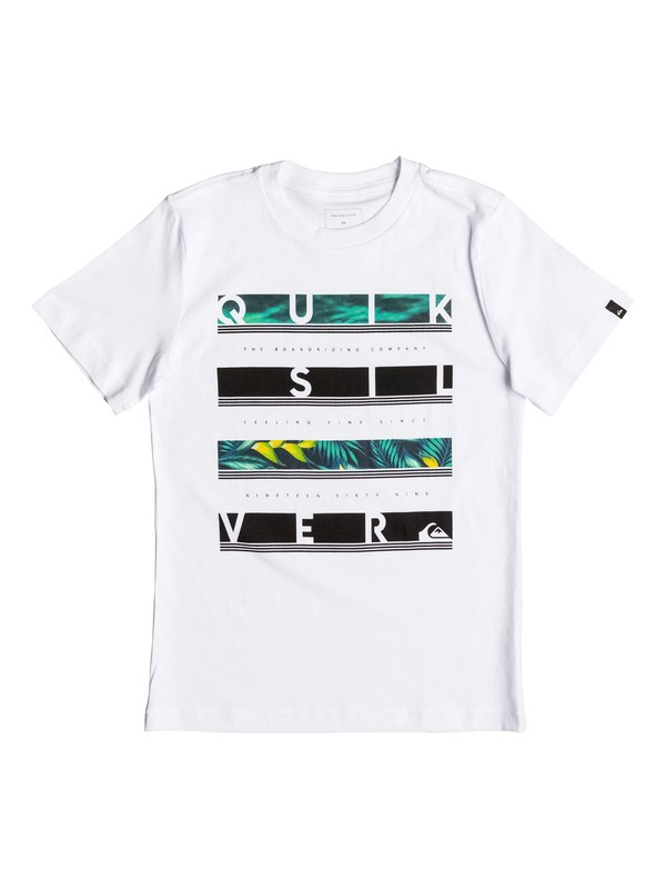 0 Boy's 2-7 Read Between Tee  AQKZT03209 Quiksilver