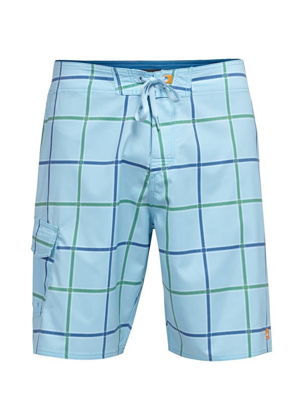 0 Men's Square Root 2-Way Stretch Diamond Dobby Boardshorts  AQMBS00031 Quiksilver