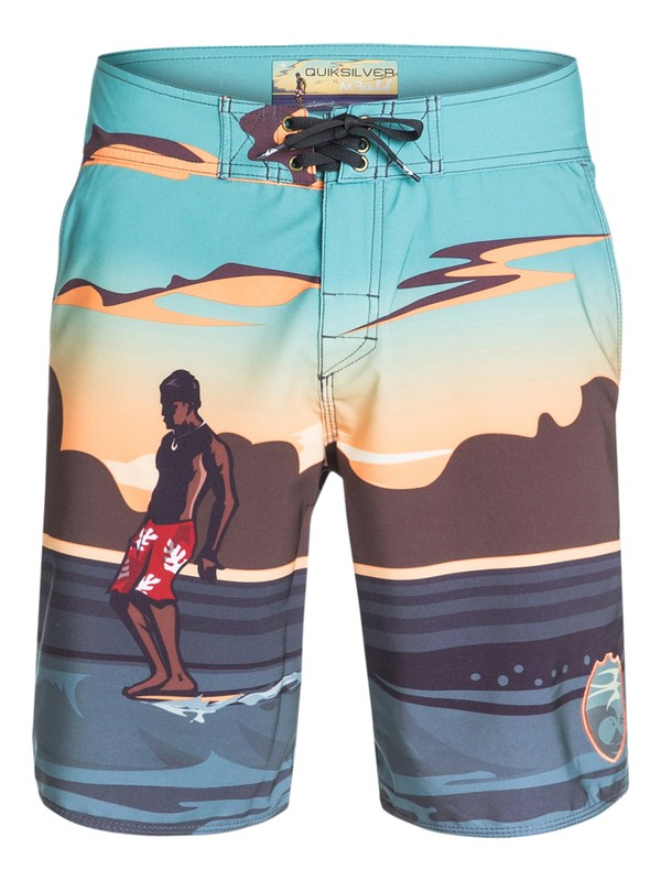 0 Men's Tahiti Slide Boardshorts  AQMBS03008 Quiksilver