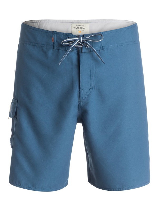 """0 Mens Rocky 18"""" Boardshorts Blue AQMBS03011 Quiksilver"""