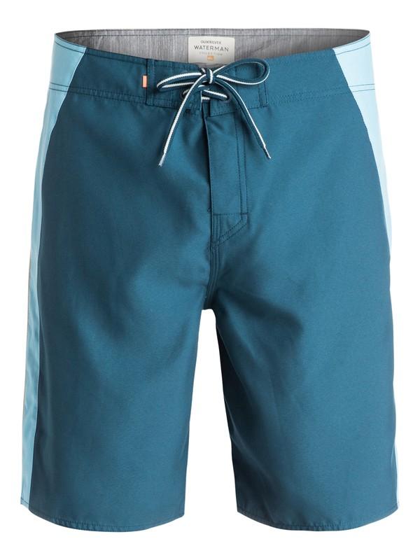 """0 Waterman Rhodin 20"""" Boardshorts Blue AQMBS03049 Quiksilver"""