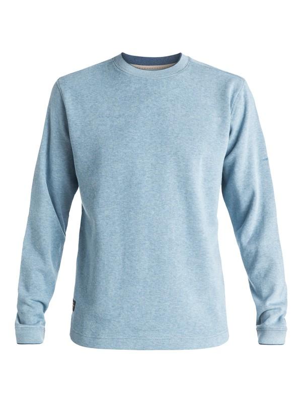 0 Men's Rock Lagoon Pullover Sweatshirt Blue AQMFT03000 Quiksilver