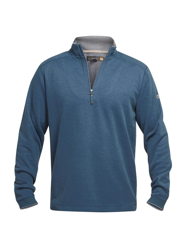 0 Men's Point Sur Pullover Sweatshirt  AQMFT03005 Quiksilver