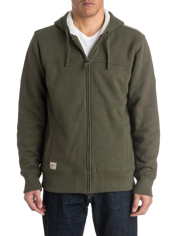 0 Waterman Hinterlands Zip - Up Sweatshirt  AQMFT03017 Quiksilver