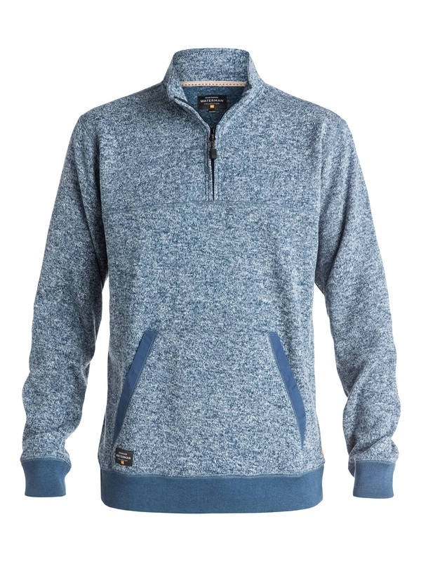 0 Waterman Mormont Pullover Sweater Blue AQMFT03024 Quiksilver