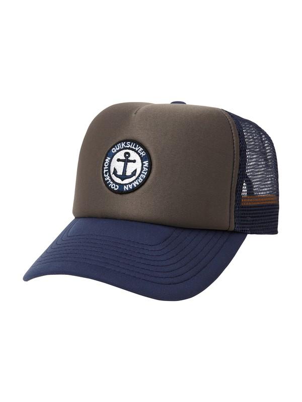 0 Men's Spek Trucker Hat  AQMHA00014 Quiksilver