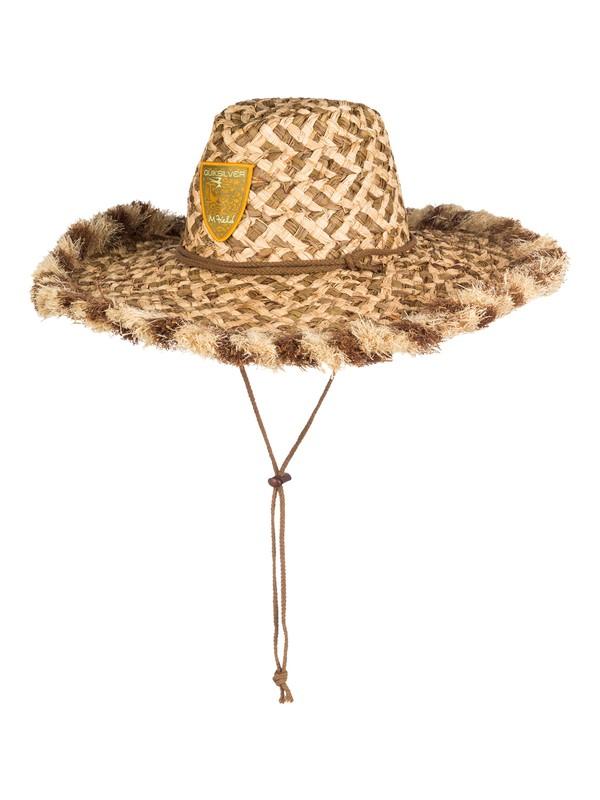 0 Men's Lauhala Hat  AQMHA03015 Quiksilver