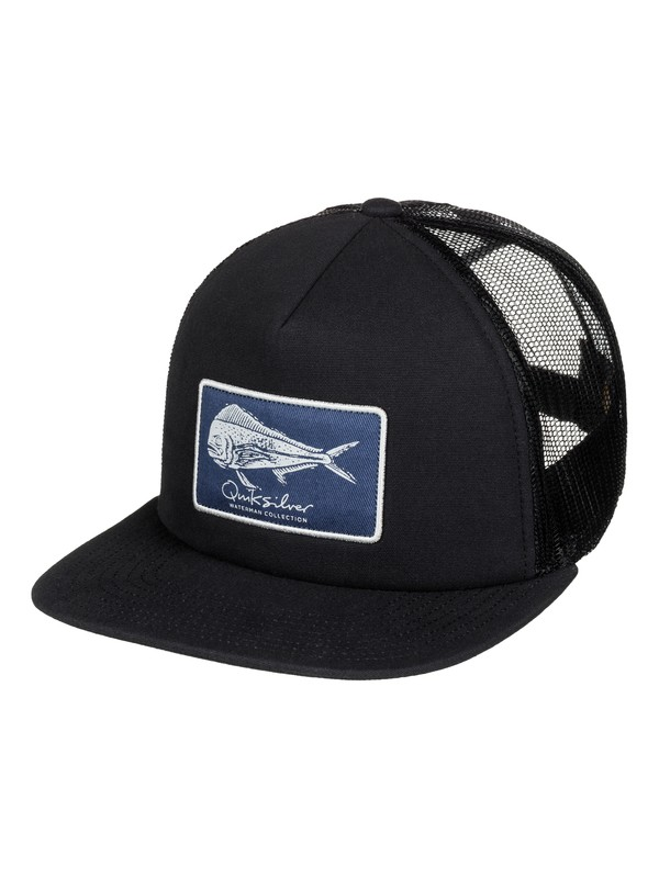 0 Waterman Bulls Trucker Hat  AQMHA03053 Quiksilver