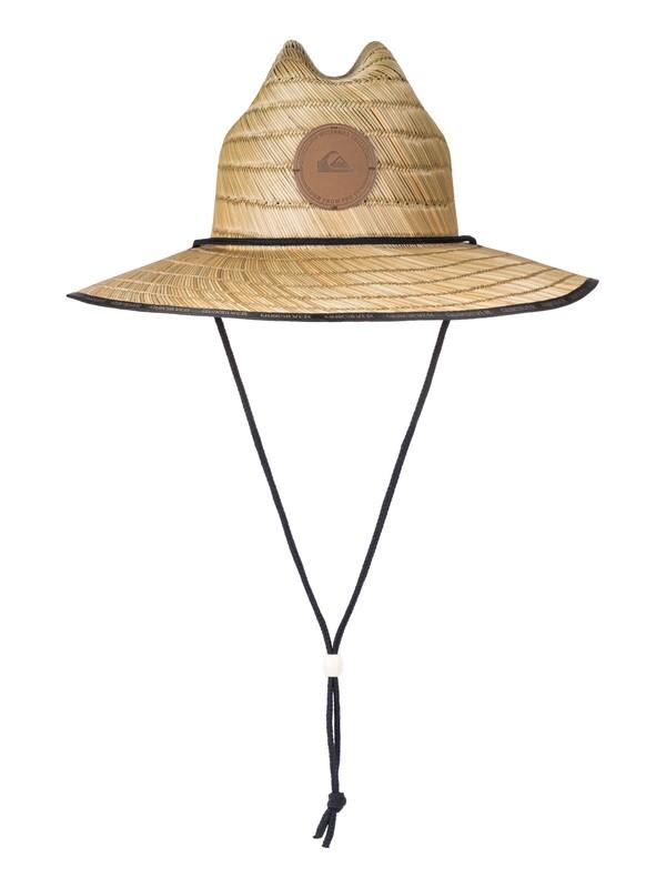 0 Waterman Dredge Straw Lifeguard Hat Yellow AQMHA03057 Quiksilver