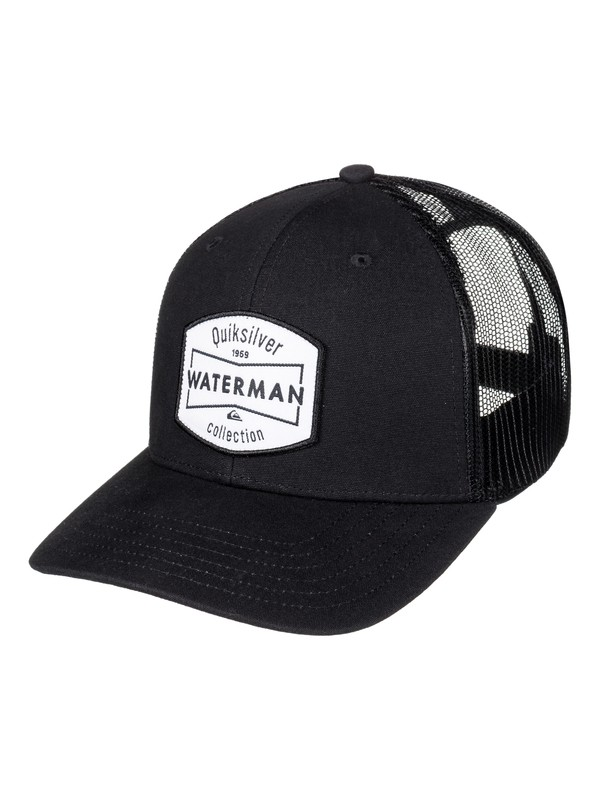 0 Waterman Collection Trucker Hat Black AQMHA03062 Quiksilver