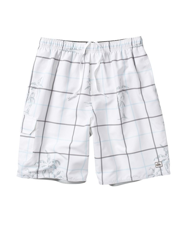 0 Men's Gridlock Volley Boardshorts  AQMJV00008 Quiksilver