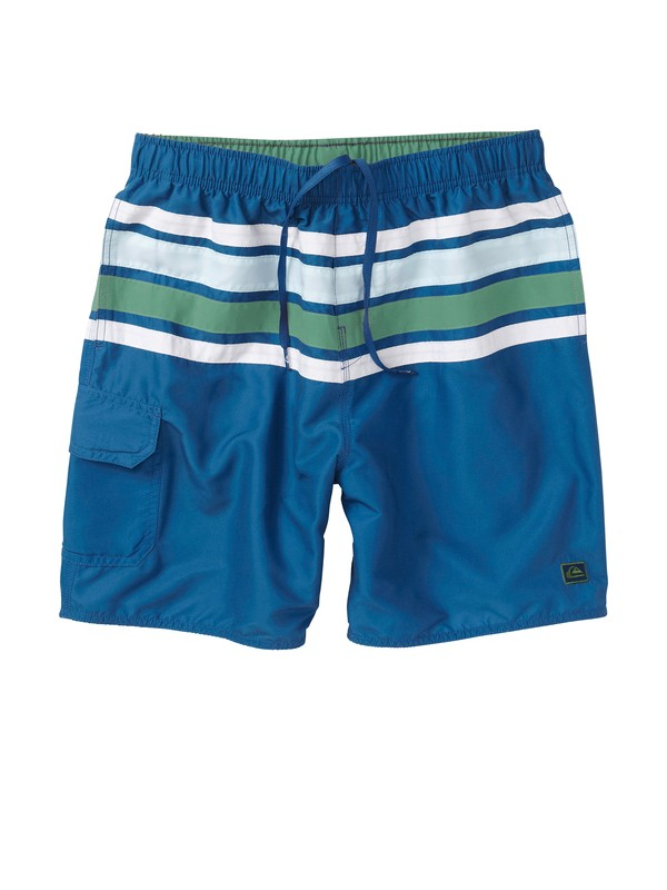 0 Men's Cross Wave Volley Boardshorts  AQMJV00043 Quiksilver