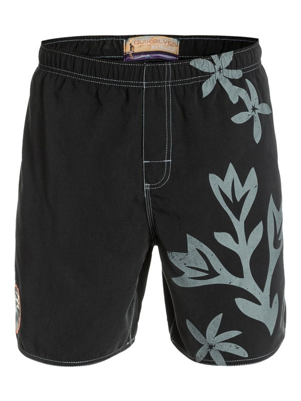 0 Men's Tahiti Tapa Volley Boarshorts  AQMJV03008 Quiksilver