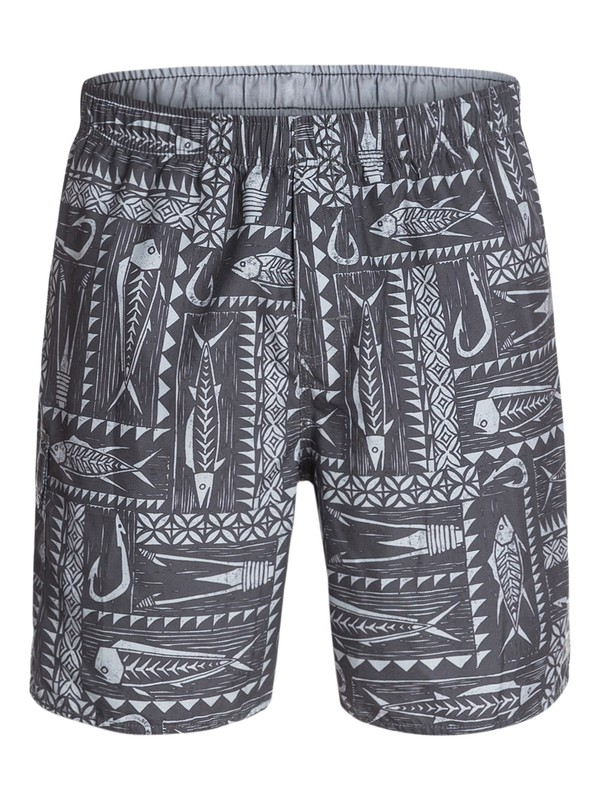0 Men's Gone Fishing Lightweight Volleys  AQMJV03016 Quiksilver