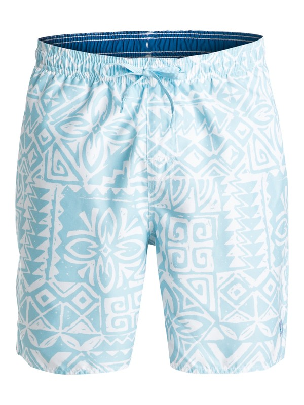 "0 Men's Starbird 18""  Volley Boardshorts  AQMJV03022 Quiksilver"