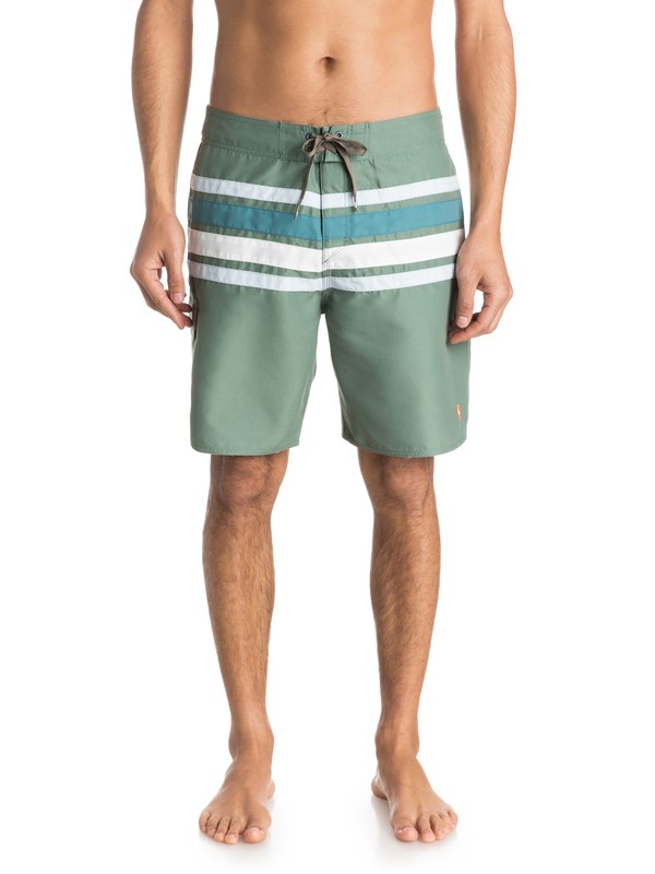 "0 Mens Melbourne 19"" Volley Boardshorts  AQMJV03026 Quiksilver"