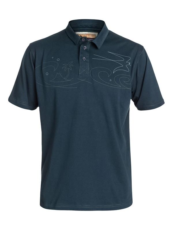 0 Men's Under Par Polo Shirt  AQMKT03010 Quiksilver