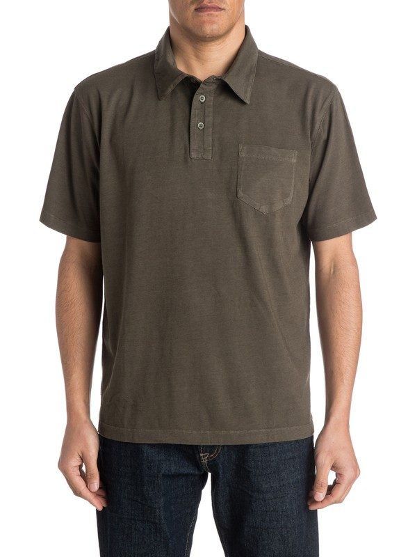 0 Waterman Strolo Polo Shirt  AQMKT03023 Quiksilver