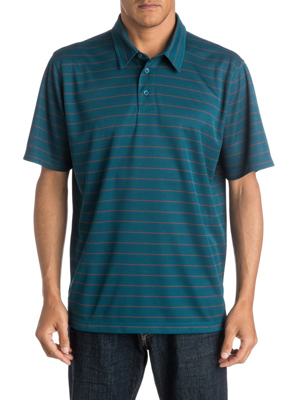 0 Mens Channel Polo Shirt  AQMKT03034 Quiksilver
