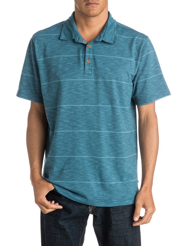 0 Mens Resident Polo Shirt  AQMKT03036 Quiksilver