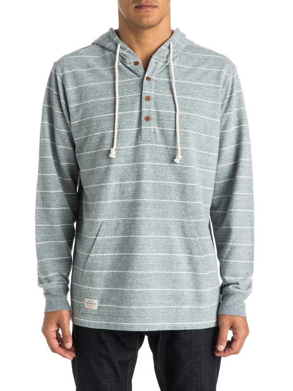 0 Mens Dawn Patrol  Hooded Henley TopHenley Top  AQMKT03040 Quiksilver