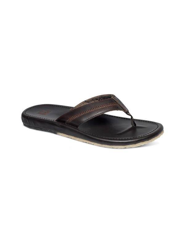 0 Corsica Leather Sandals  AQML100002 Quiksilver