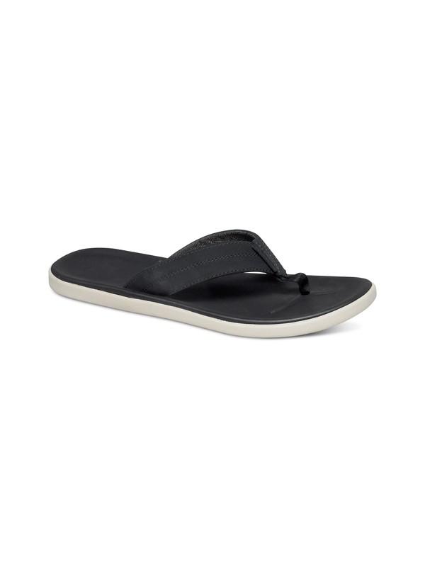 0 Sanremo Leather Sandals  AQML100004 Quiksilver