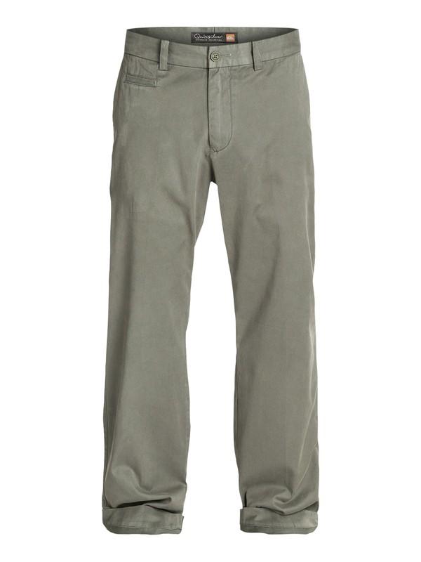0 Men's Brizzie Long Chino Pants  AQMNP03009 Quiksilver