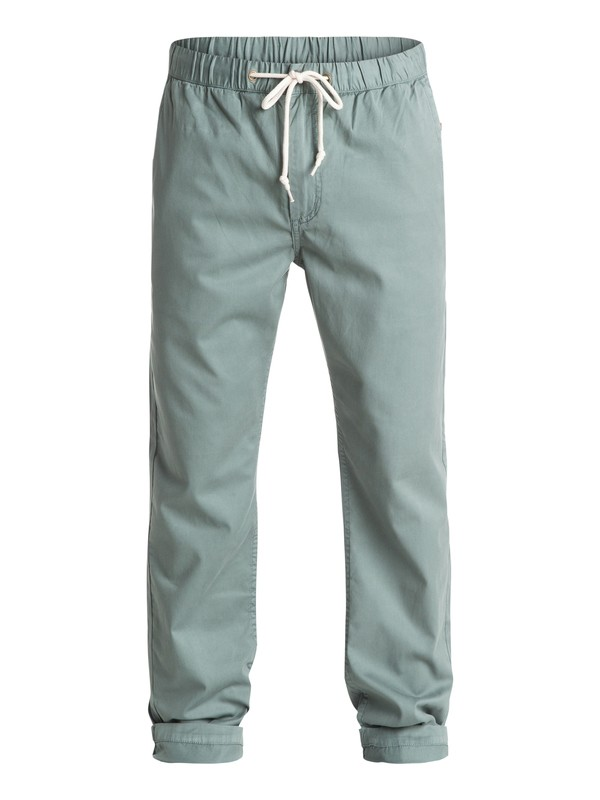 0 Waterman Coastal Chino Pants Green AQMNP03013 Quiksilver