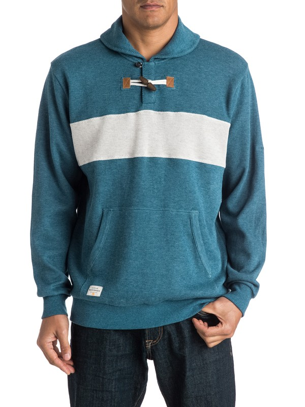 0 Waterman Sea Legs - Shawl-Collar Sweater  AQMSW03004 Quiksilver