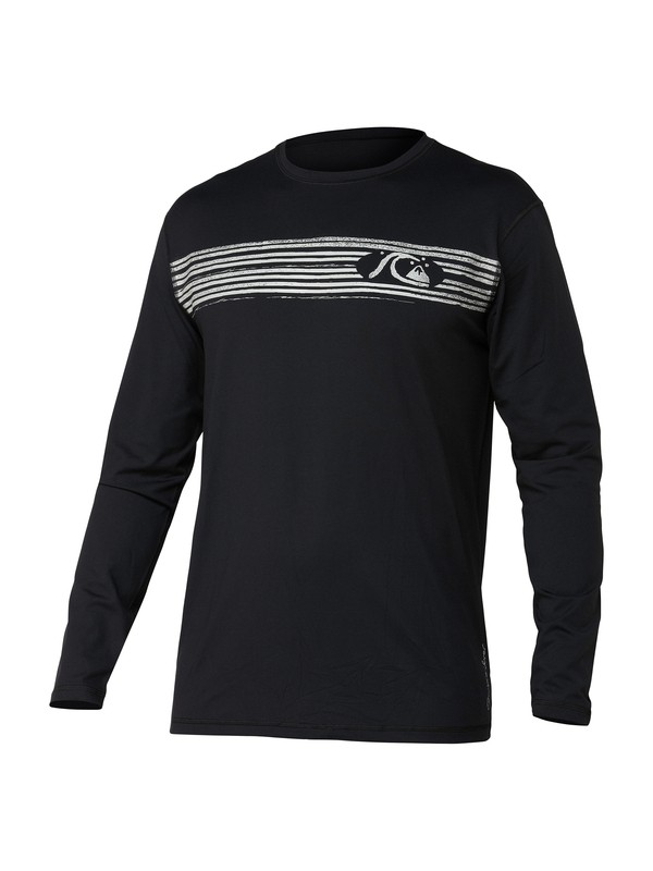 0 Off The Wall 2 LS Surf Shirt  AQMWR00018 Quiksilver