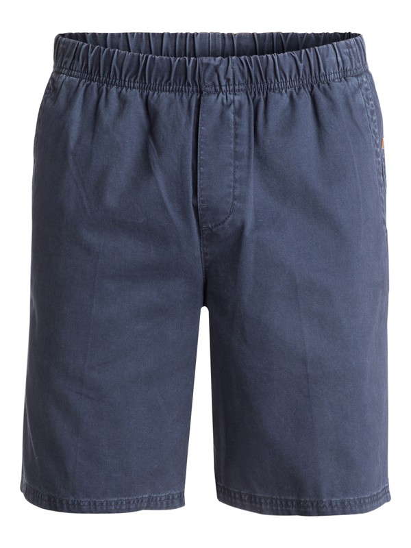 "0 Men's Cabo 9"" Shorts Blue AQMWS03018 Quiksilver"