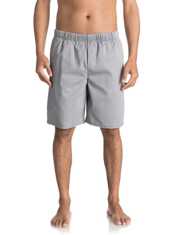 "0 Waterman Cabo 21"" - Shorts Grey AQMWS03018 Quiksilver"