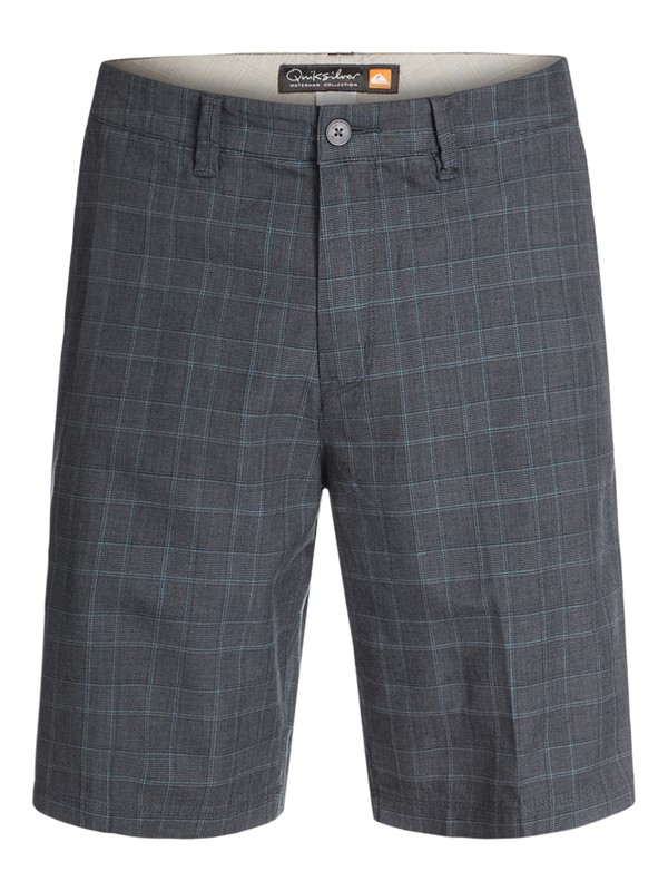 0 Men's Marina Check Shorts  AQMWS03029 Quiksilver