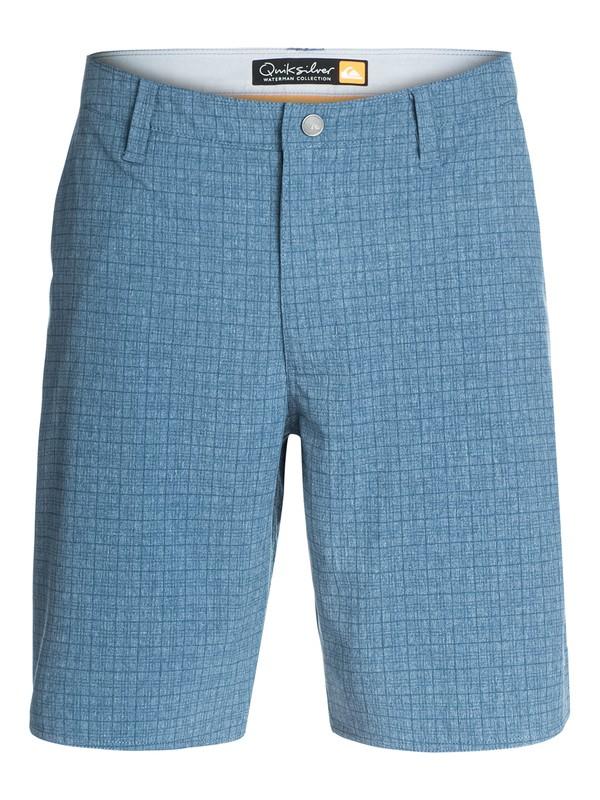 0 Men's Palisade 2 Heathered Amphibian Shorts  AQMWS03034 Quiksilver