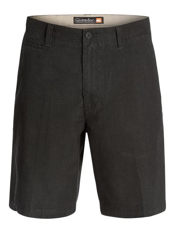 0 Men's Montego Plaid Shorts  AQMWS03037 Quiksilver