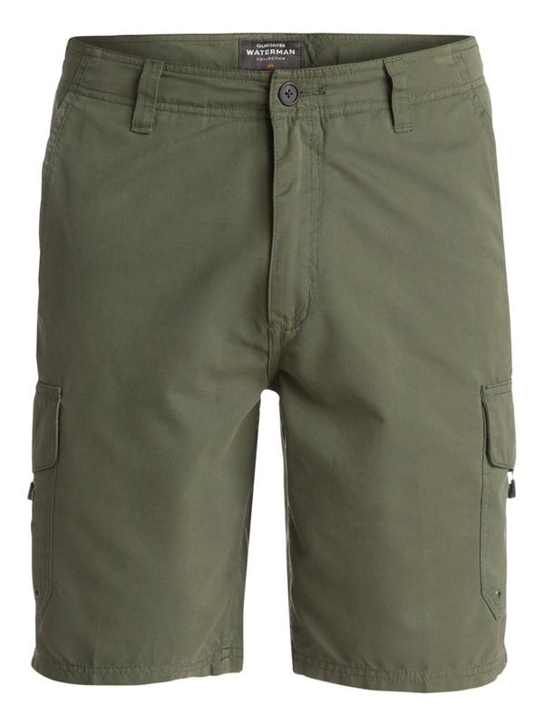 0 Waterman Maldive Shorts Green AQMWS03043 Quiksilver